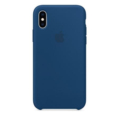 iPhone Xs Silicone Case Blue Horizon Apple Donostia San Sebastian