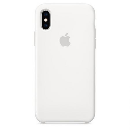 iPhone Xs Max Silicone Case White Apple Donostia San Sebastian