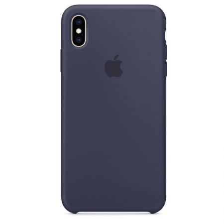 iPhone Xs Max Silicone Case Midnight Blue Apple Donostia San Sebastian España