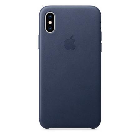 iPhone Xs Leather Case Midnight Blue Apple Donostia San Sebastian