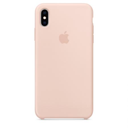 iPhone Xs Max Silicone Case Pink Sand Apple Donostia San Sebastian