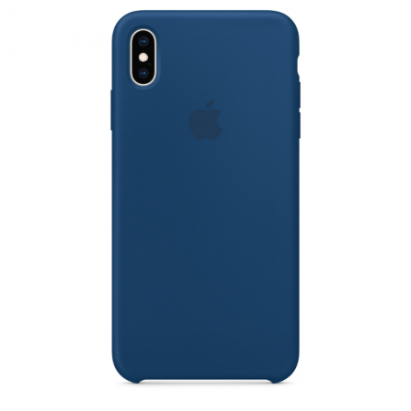 iPhone Xs Max Silicone Case Blue Horizon Apple Donostia San Sebastian