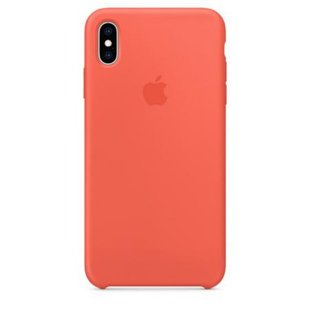 iPhone Xs Max Silicone Case Nectarine Apple Donostiia San Sebastian