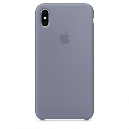 iPhone Xs Max Silicone Case Lavender Gray Apple Donostia San Sebastian España