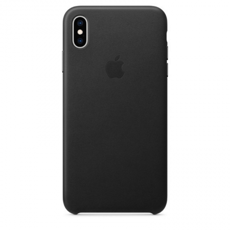 iPhone Xs Max Leather Case Black Apple Donostia San Sebastian España