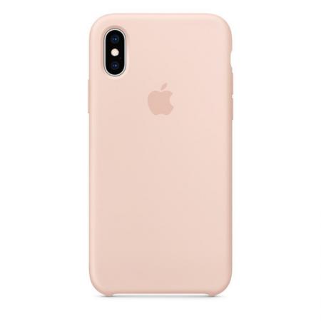 iPhone Xs Silicone Case Pink Sand Donostia San Sebastian