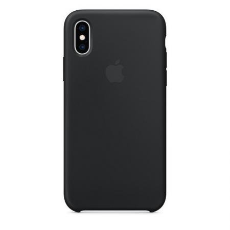 iPhone Xs Silicone Case Black Donostia San Sebastian