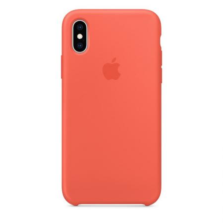 iPhone Xs Silicone Case Nectarine Apple Donostia San Sebastian
