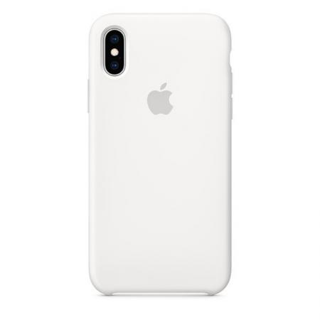 iPhone Xs Silicone Case White Apple Donostia San Sebastian