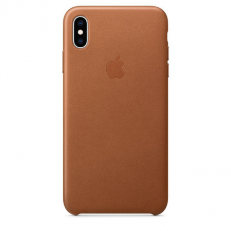 iPhone Xs Max Leather Case Saddle Brown Apple Donostia San Sebastian España