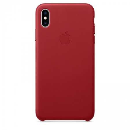 iPhone Xs Max Leather Case PRODUCT RED Apple Donostia San Sebastian España