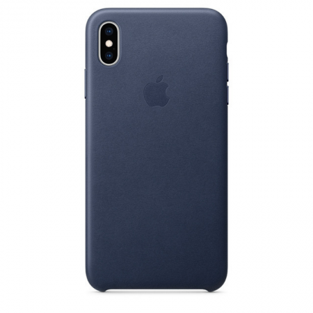 iPhone Xs Max Leather Case Midnight Blue Apple Donostia San Sebastian