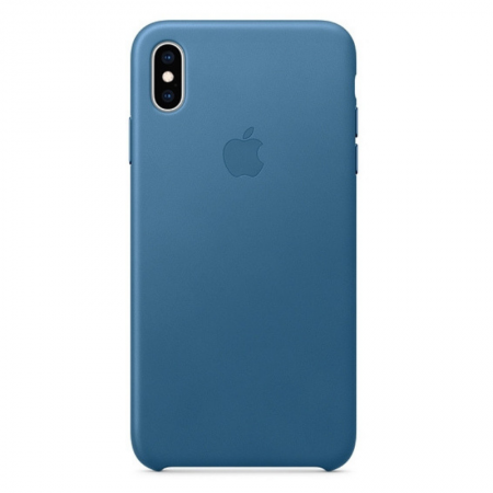iPhone Xs Max Leather Case Cape Cop Blue Apple Donostia San Sebastian