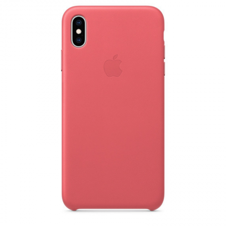 iPhone Xs Max Leather Case Peony Pink Apple Donostia San Sebastian Gipuzkoa