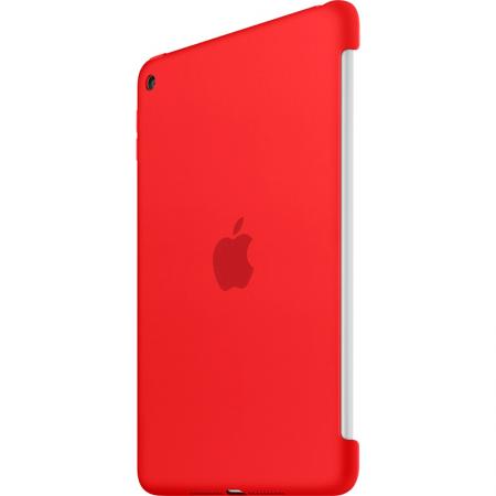 Funda de silicona apple para ipad mini 4 color rojo