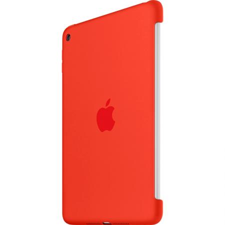 Funda de silicona apple para ipad mini 4 color naranja