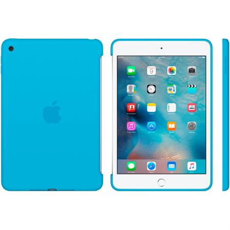 Funda de silicona apple para ipad mini 4 color azul