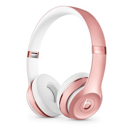 Comprar cascos Beats Solo3 Wireless Oro Rosa