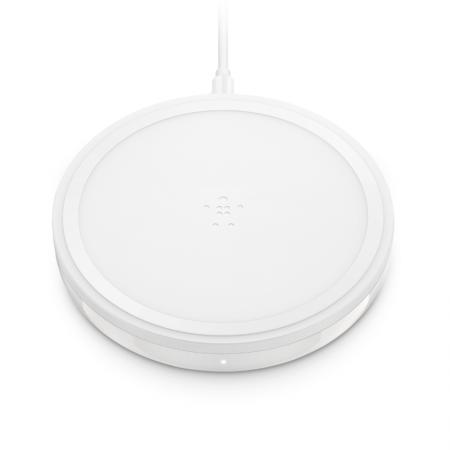 base de carga inalámbrica para iPhone x xr xs max belkin blanca