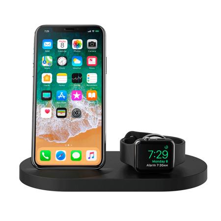 Comprar Base de carga inalámbrica para iPhone y Apple Watch BoostUp Belkin