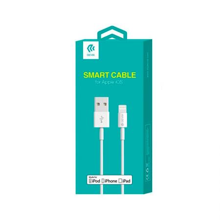 Cable de carga lightning Devia para iPhone, iPad y iPod