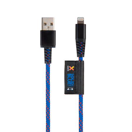 Cable Lightning Xtorm para iPhone Blue Solid