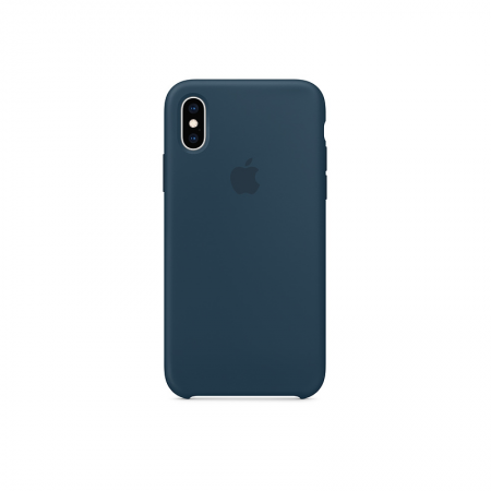 funda silicona verde oceano iPhone xs apple