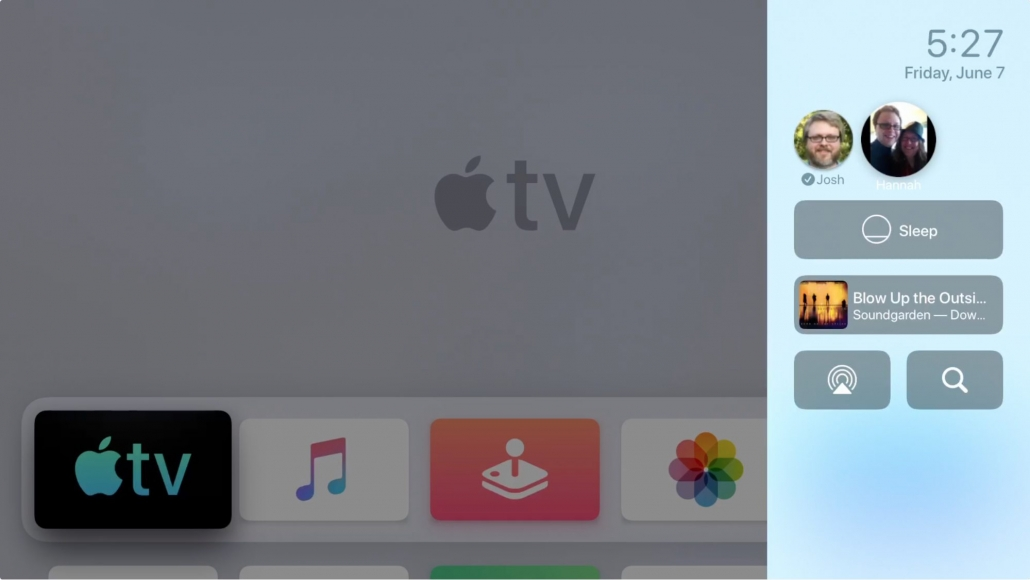 cómo cambiar de usuario en apple tv