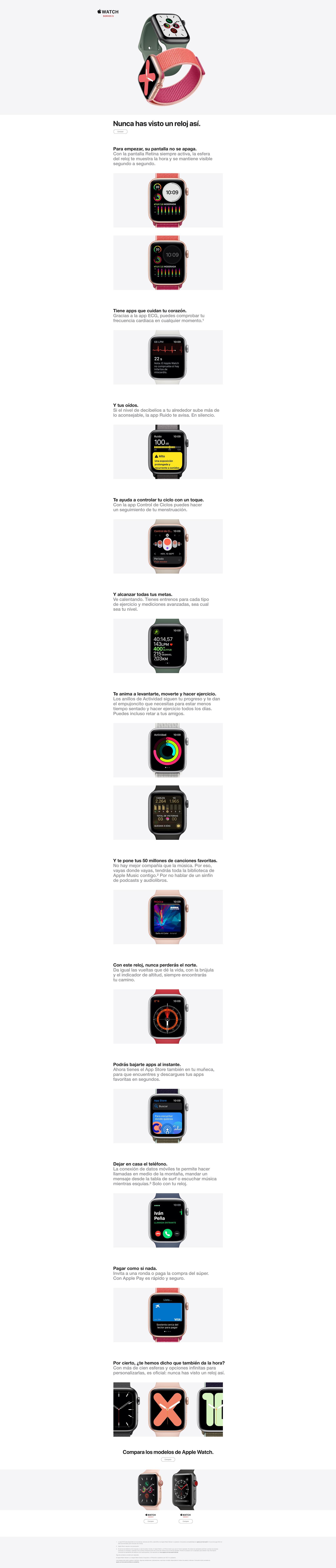 nuevo apple watch series 5