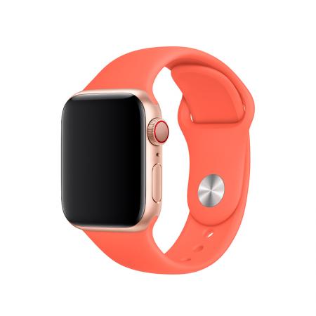 correa naranja para apple watch