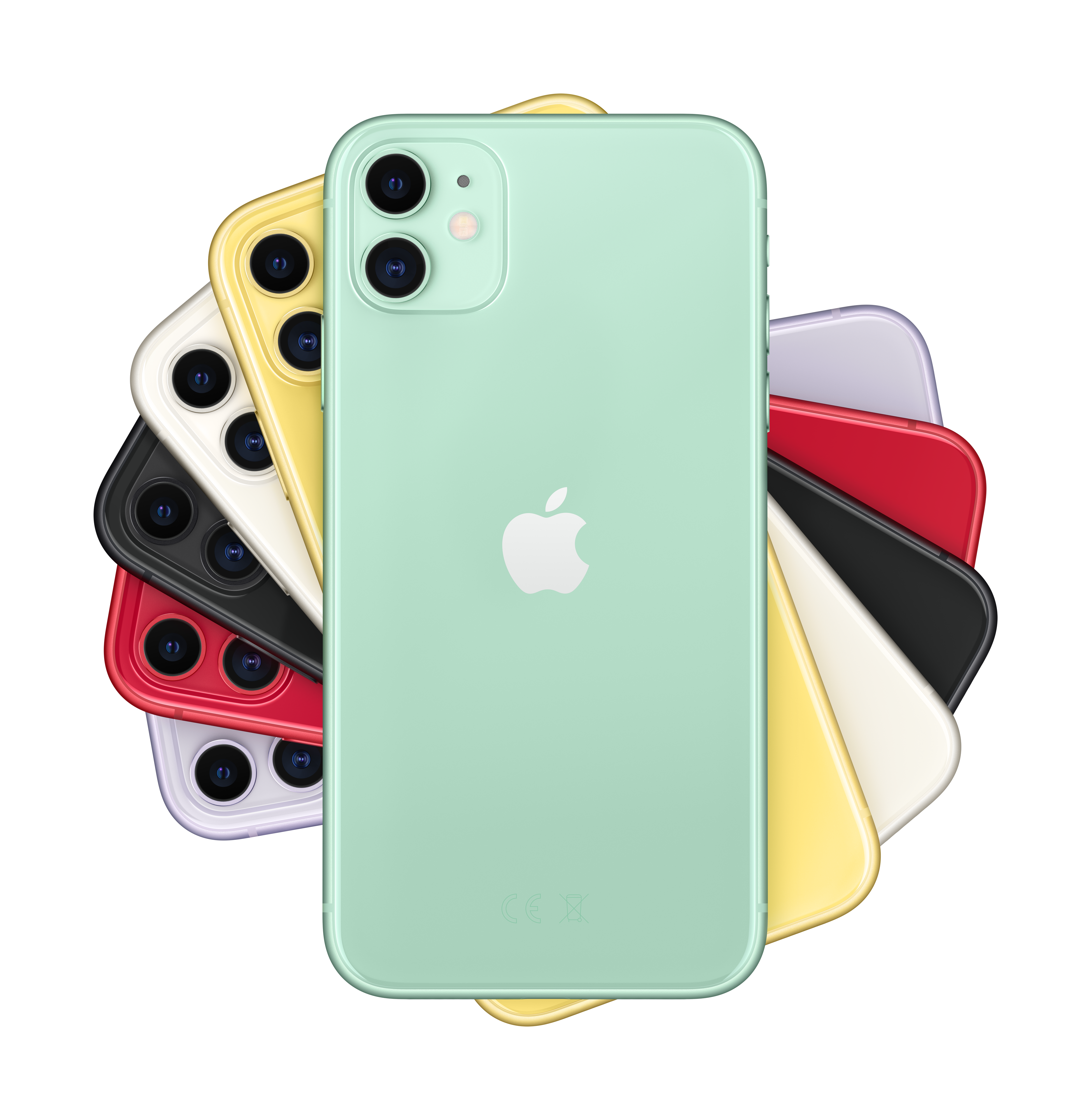 colores del iphone 11 y camara