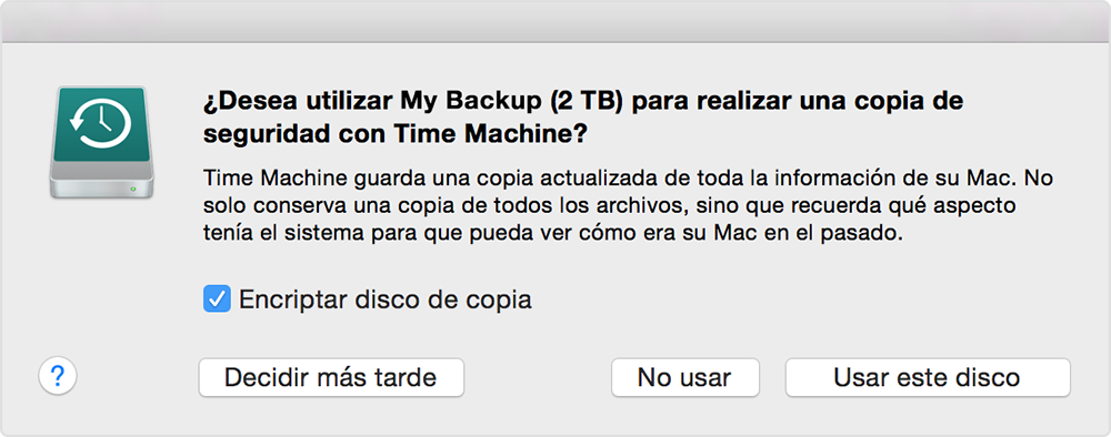 comprar discos duro para hacer copia de seguridad con time machine en mac