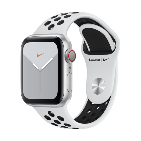 comprar nuevo apple watch series 5 gps+ celular 40mm plata