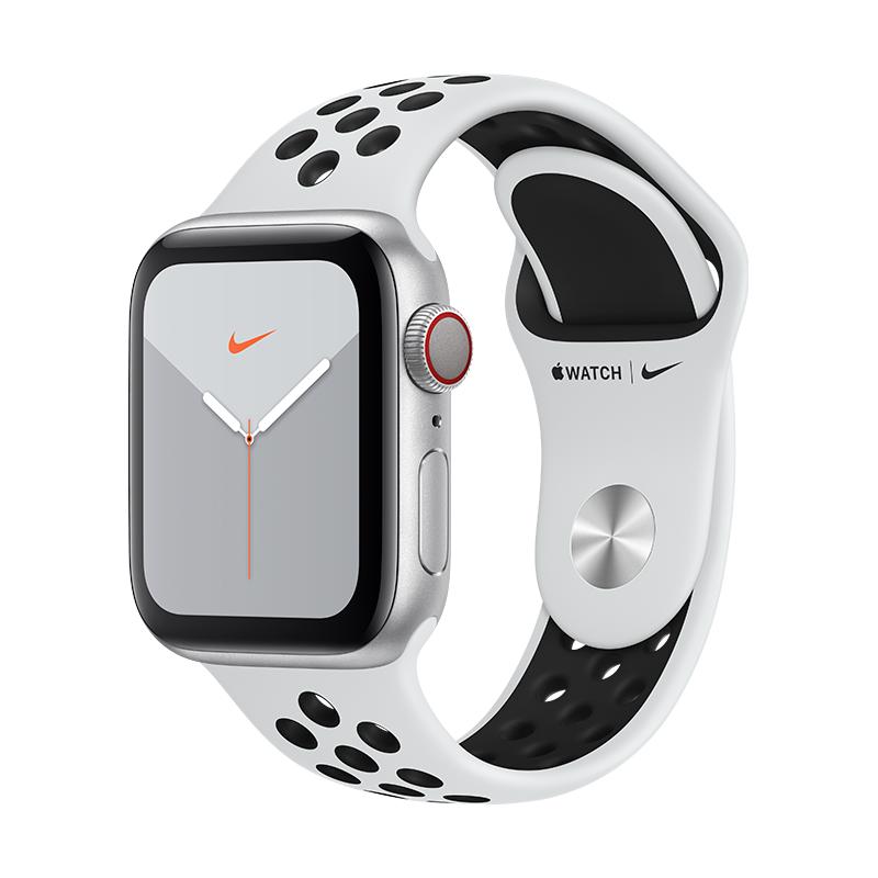 comprar nuevo apple watch series 5 gps+ celular 40mm plata