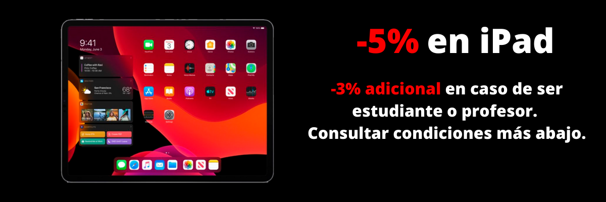 descuento ipad black friday