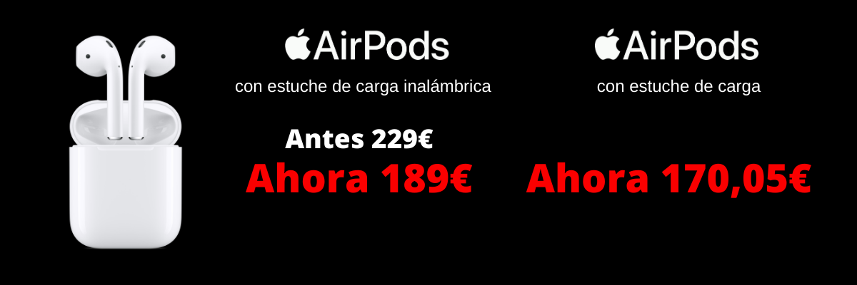 descuento airpods black friday