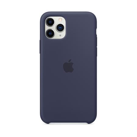comprar funda apple silicona azul noche para iphone 11 pro