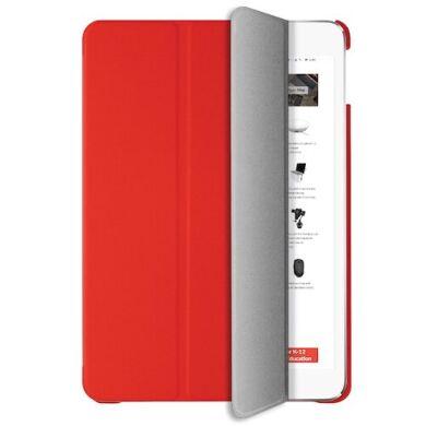Funda roja para iPad 2019 con tapa