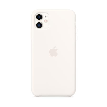 comprar funda de silicona blanca para iPhone 11