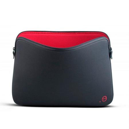 Funda MacBook Pro y MacBook Air 13 pulgadas de neopreno gris y roja