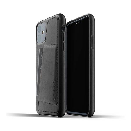 Funda iPhone 11 de cuero con bolsillo