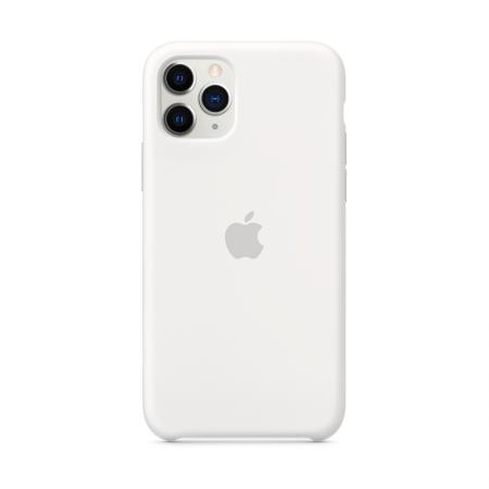 Comprar funda iPhone 11 Pro silicona blanca