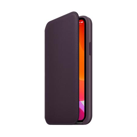 comprar funda con tapa de cuero de apple para iphone 11 pro
