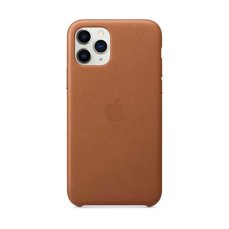 comprar iphone 11 pro cuero marron apple