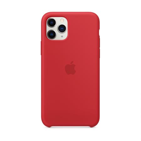 Funda iPhone 11 Pro silicona roja