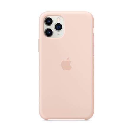 Comprar funda de silicona rosa palo para iphone 11 pro