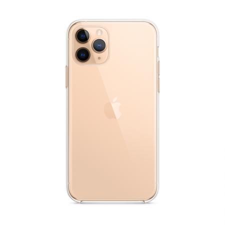 comprar funda transparente de Apple para iPhone 11 pro dorado