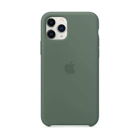 comprar funda para iphone 11 pro de silicona color verde