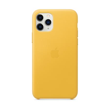 comprar funda de cuero apple para iphone 11 pro amarilla de apple