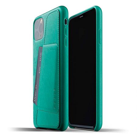 comprar funda de cuero verde alpin iphone 11 pro max